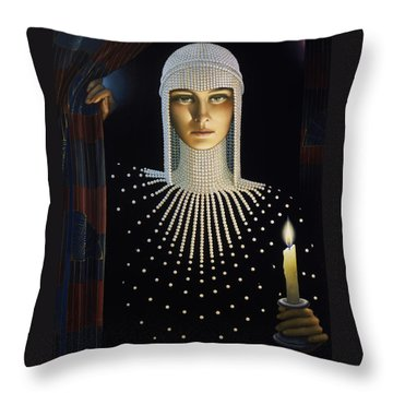 Intrique Throw Pillow by Jane Whiting Chrzanoska