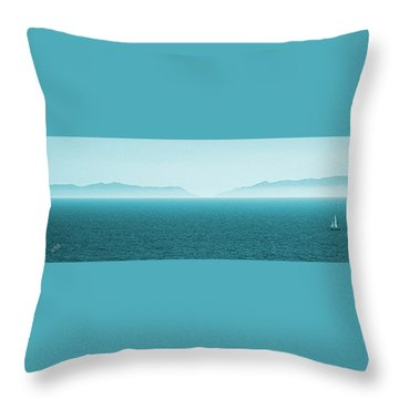 Island Throw Pillow by Ben and Raisa Gertsberg