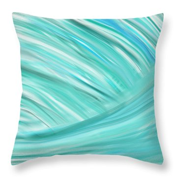 Island Time Throw Pillow by Lourry Legarde