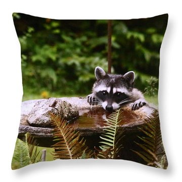 It Is Not Just For The Birds Throw Pillow by Kym Backland