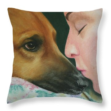 It's Alright Throw Pillow by Marna Edwards Flavell