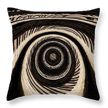 Ivory Throw Pillow by Jack Zulli