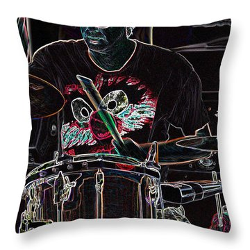 Jammer  By Jrr Throw Pillow by First Star Art