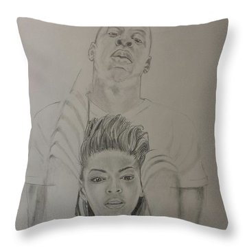 Jaybey Throw Pillow by DMo Herr
