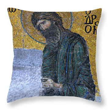 John The Baptist Throw Pillow by Stephen Stookey