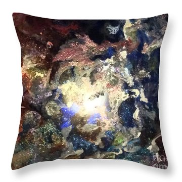Joleen Throw Pillow by Kathleen Fowler