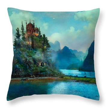 Journeys End Throw Pillow by Aimee Stewart