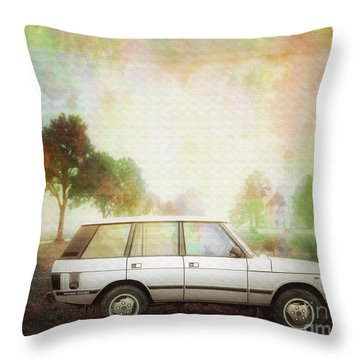 Joys Of Refined Motoring  Throw Pillow by Edmund Nagele