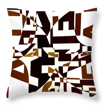 Junk Mail 2 Throw Pillow by Elena Nosyreva