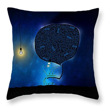 Just Digg It Throw Pillow by Gianfranco Weiss
