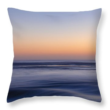 Throw Pillow featuring the photograph Just Go With The Flow by Thierry Bouriat