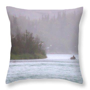 Kenai Throw Pillow by Ron Day