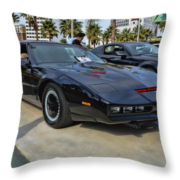 Kitt Throw Pillow by Tommy Anderson