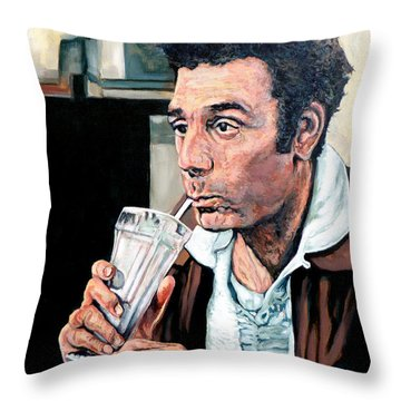 Kramer Throw Pillow by Tom Roderick