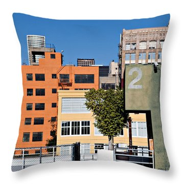 La Mixture Throw Pillow by Art Block Collections