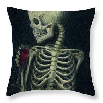 La Ofrenda Throw Pillow by Lorena Rivera