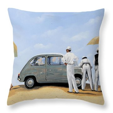 La Seicento Throw Pillow by Guido Borelli