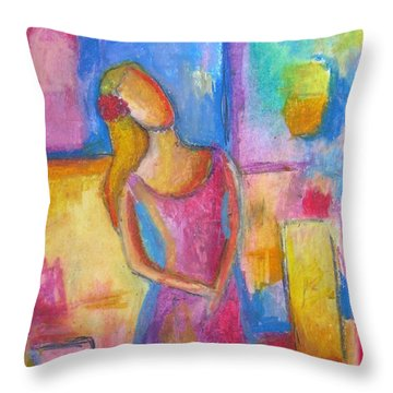 Lady Grace Throw Pillow by Venus