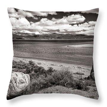 Lake Granby Throw Pillow by Joan Carroll
