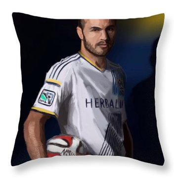 Landon Throw Pillow by Jeremy Nash