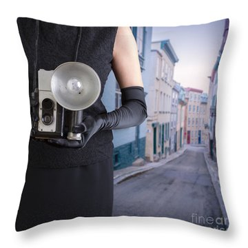 Last Thing I Remember Was A Blinding Light Throw Pillow by Edward Fielding