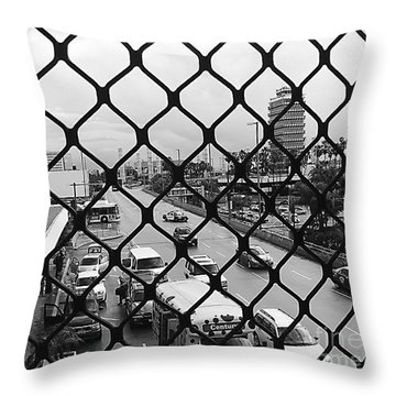 Security ? Throw Pillow by Fei A
