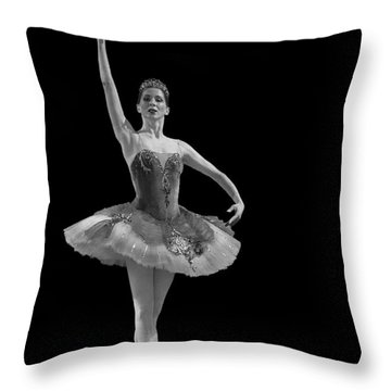 Le Corsaire - Pas De Deux. Throw Pillow by Clare Bambers