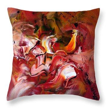 Le Jardin Extraordinaire Throw Pillow by Isabelle Vobmann