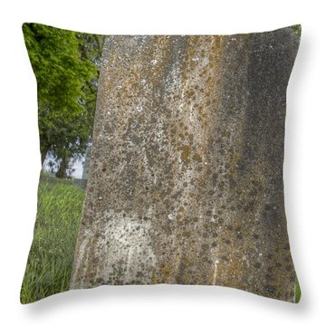 Leaning Over Throw Pillow by Jean Noren