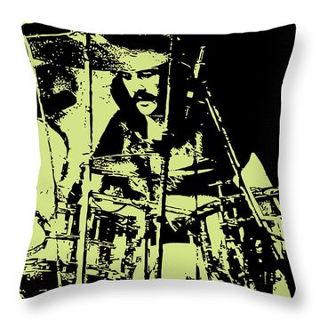 Led Zeppelin No.05 Throw Pillow by Caio Caldas