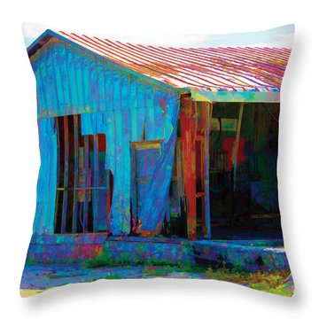 Left To Fly Throw Pillow by Robin Lewis