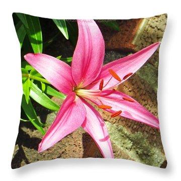 Leiron Throw Pillow by Sonali Gangane