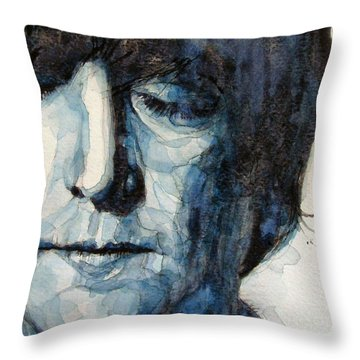 Lennon Throw Pillow by Paul Lovering