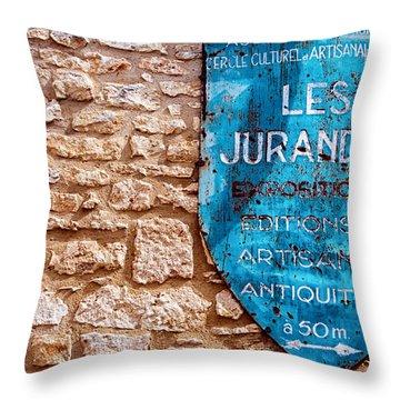 Les Jurandes Bonaguil Throw Pillow by Georgia Fowler