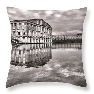 Les Templettes Throw Pillow by Olivier Le Queinec