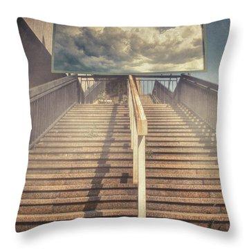 Lestnitsa Throw Pillow by Taylan Apukovska