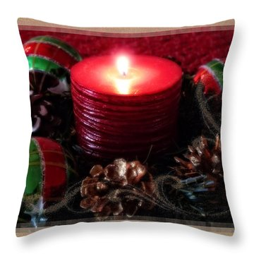 Let Your Light Shine Throw Pillow by Lucinda Walter