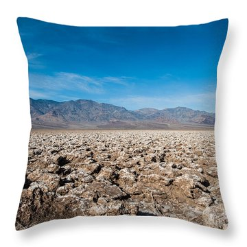 Let's Play Golf Throw Pillow by George Buxbaum