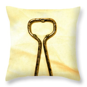 Let's Pop A Top Throw Pillow by Anita Lewis