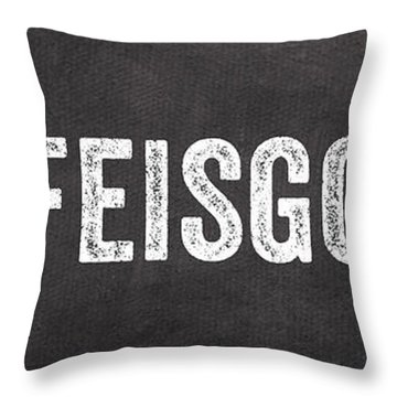 Life Is Good Throw Pillow by Linda Woods