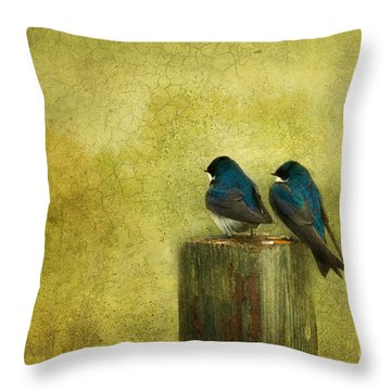 Life Long Friends Throw Pillow by Beve Brown-Clark Photography