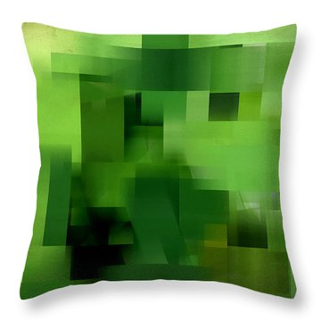 Life's Color Throw Pillow by Lourry Legarde