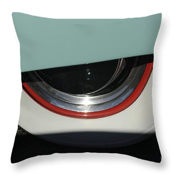 Lift Up Your Skirt Throw Pillow by Luke Moore