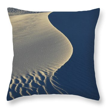 Light And Shadows Throw Pillow by Vivian Christopher