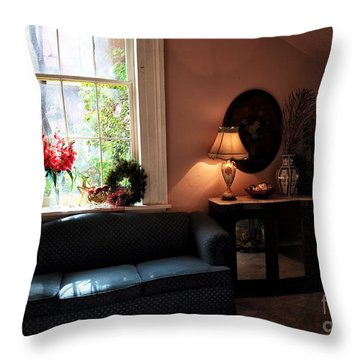 Light By The Window Throw Pillow by John Rizzuto
