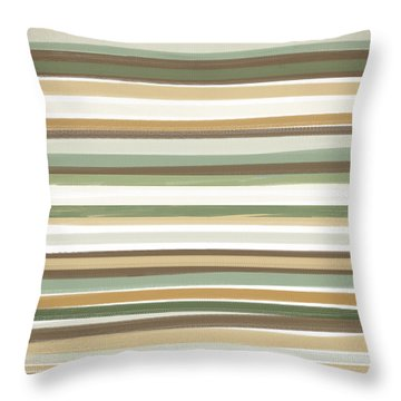 Light Mocha Throw Pillow by Lourry Legarde