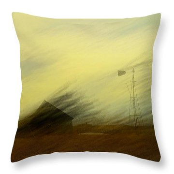 Like A Memory In The Wind Throw Pillow by Jeff Swan