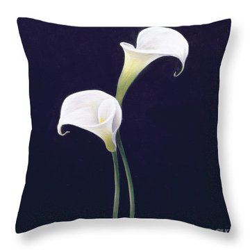 Lily Throw Pillow by Lincoln Seligman