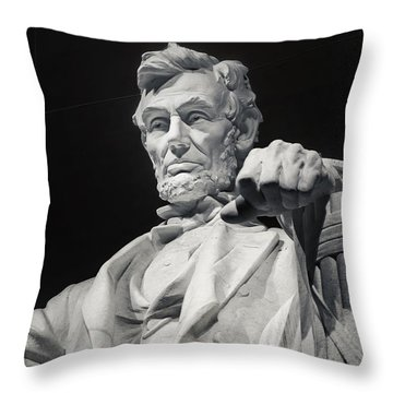 Lincoln Throw Pillow by Joan Carroll