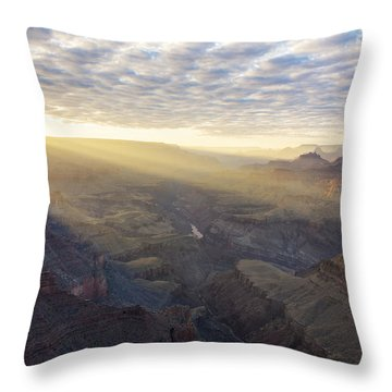 Lipon Point Sunset - Grand Canyon National Park - Arizona Throw Pillow by Brian Harig